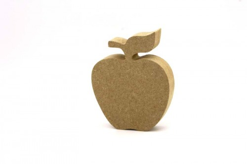 MDF Freestanding Apple 10cm