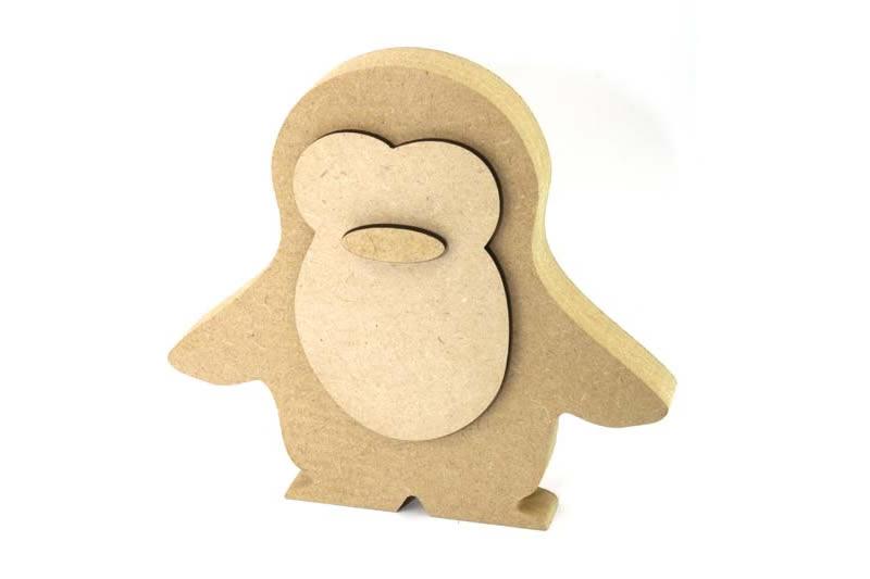 MDF Penguin, Freestanding Penguin, Penguin