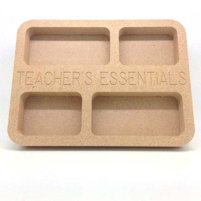 Teacher's Essentials Tray 20cm MDF