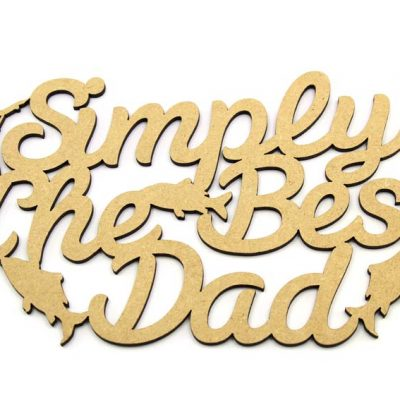 Father's Day Gift, Simply The Best Dad