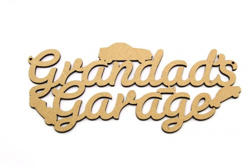 Grandad 39 s garage plaque archives lorna jayne for Plaque w garage assurance