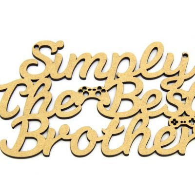 Simply The Best Brother - Games Console Theme