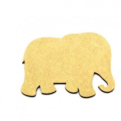 Elephant Laser Cut MDF
