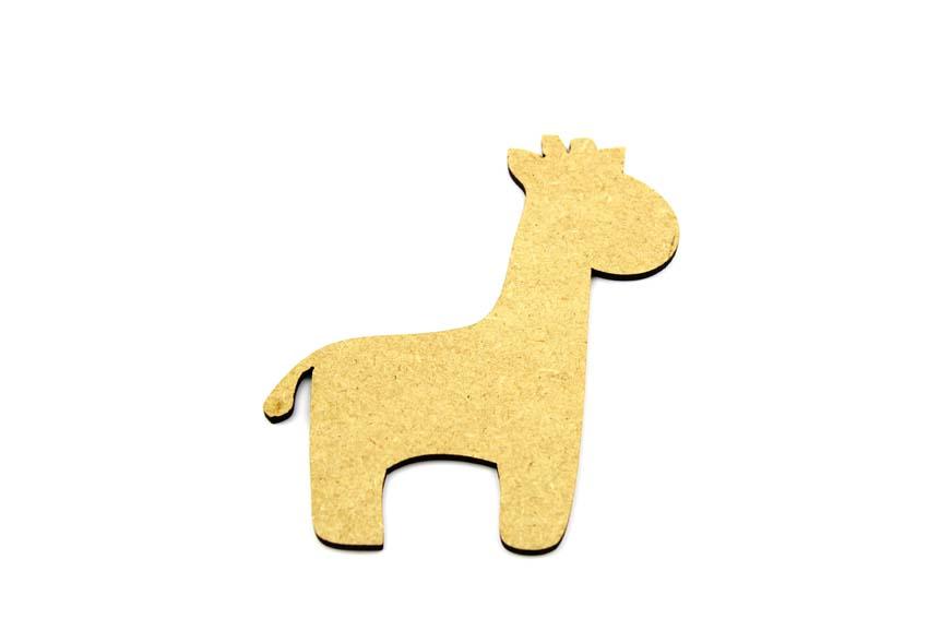 MDF Giraffe Craft Shape