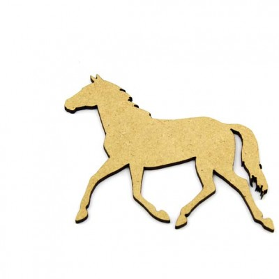 Horse MDF Craft Shape