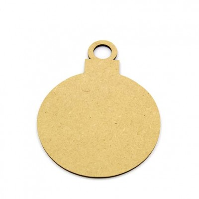 MDF Bauble - MDF Christmas Baubles Wholesale - MDF Christmas Baubles