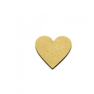 MDF Hearts - No Holes
