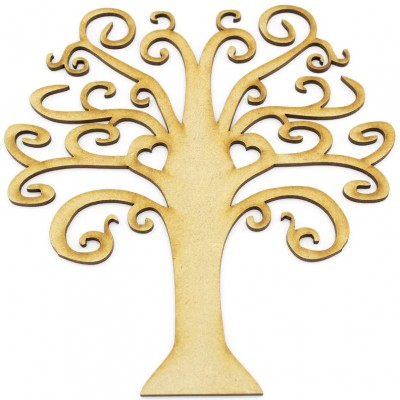 MDF Tree Shape