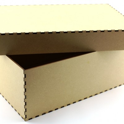 MDF Box - Small Plain MDF Box
