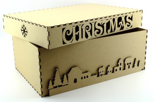MDF Christmas Eve Box