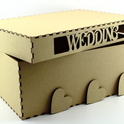 Wedding Keepsake Box - MDF