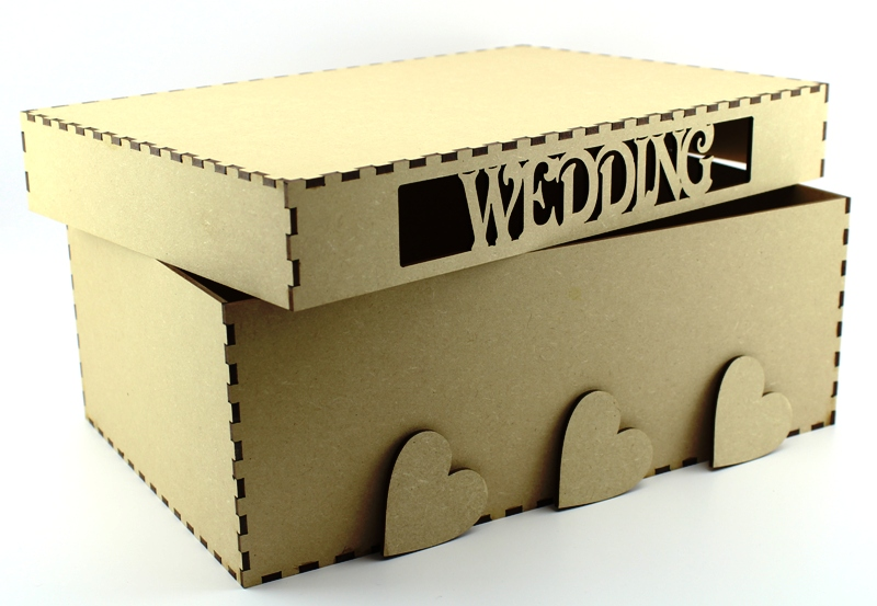 Wedding Keepsake Box Mdf