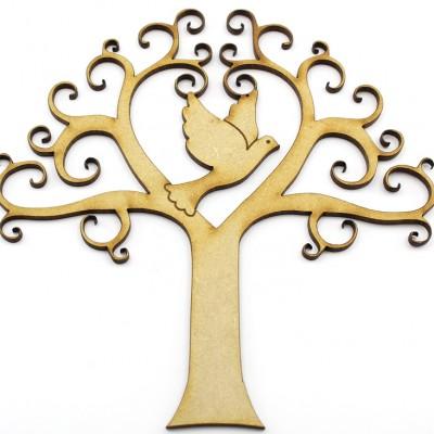 MDF Dove Tree