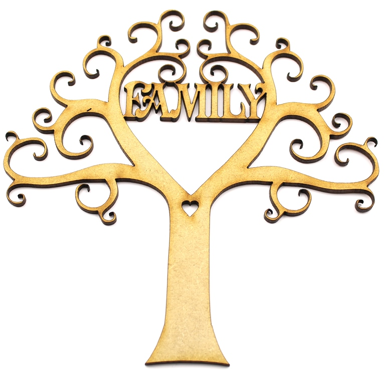 Family Tree MDF