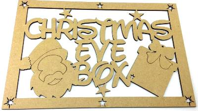 Christmas Eve Box Topper
