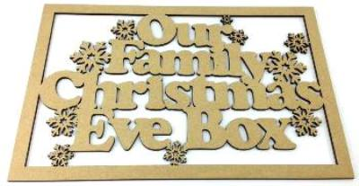 Christmas Eve Box Plaque