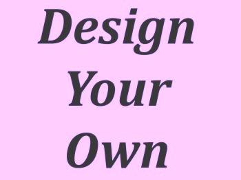 Design Your Own Plaque MDF