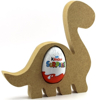 Kinder Egg Holder Dinosaur Freestanding Mdf Lorna Jayne