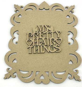My Pretty Hair Things - Hair Bow/Ribbon Holder