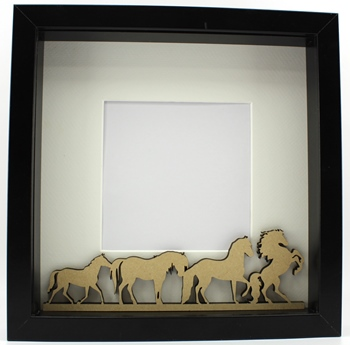Horses Plaque - Frame Filler - Lorna Jayne