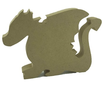 18mm MDF Freestanding Dragon