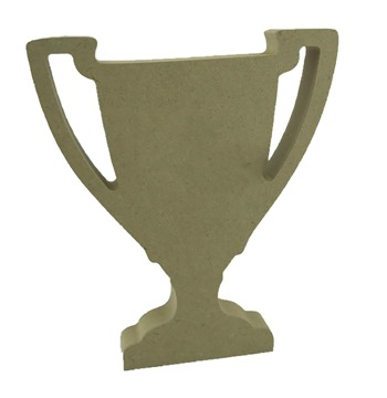18mm MDF Plain Trophy