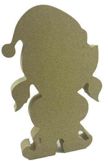 18mm MDF Freestanding Elf Girl