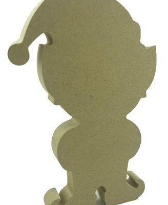 18mm MDF Freestanding Elf Boy