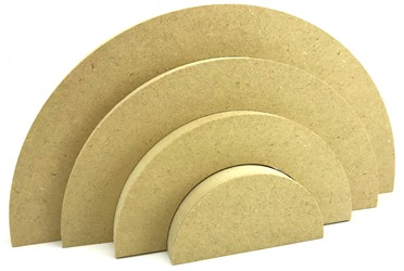 Stacking Rainbow MDF 18mm 4 Piece Pack of 5