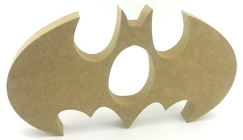 Kinder Egg Holder Batman Style Freestanding MDF