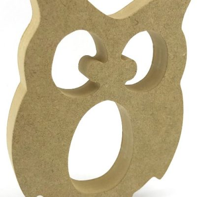 Kinder Egg Holder Owl Freestanding MDF