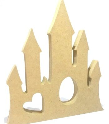 Creme Egg Holder Princess Castle Freestanding MDF