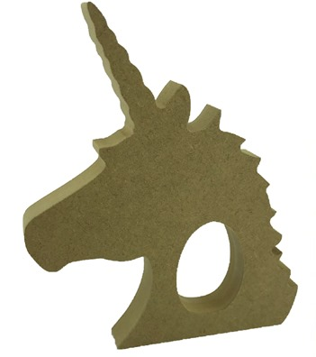 Creme Egg Holder Unicorn Head Freestanding MDF Pack of 10
