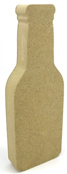 18mm MDF Freestanding Beer Bottle