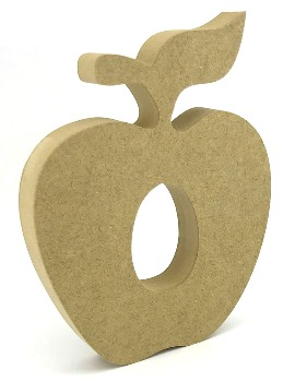 Apple 15cm freestanding 18mm mdf Creme Egg Holder