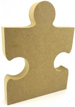 Puzzle Jigsaw Piece MDF Freestanding 15cm
