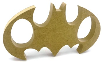 Kinder Egg Holder Batman Style Freestanding MDF 2 Egg