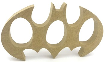 Kinder Egg Holder Batman Style Freestanding MDF 3 Egg