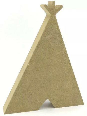 MDF Teepee Wigwam Freestanding 10cm