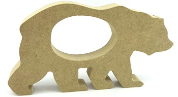 Kinder Egg Holder Walking Bear Freestanding