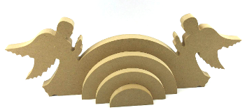Double Angels Stacking Rainbow MDF 18mm 4 Piece
