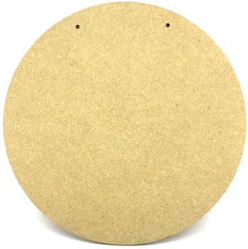4mm MDF Hanging Circle Plaque 20cm