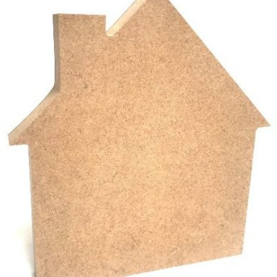 18mm MDF House Shape