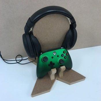 Gaming Headset & Single Controller Holder (B)