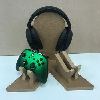 Gaming Headset & Double Controller Holder (C)